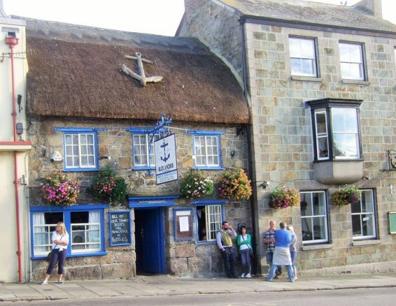 The Blue Anchor Pub, Helston